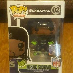 Funko Pop Richard Sherman Seatle Seahawks